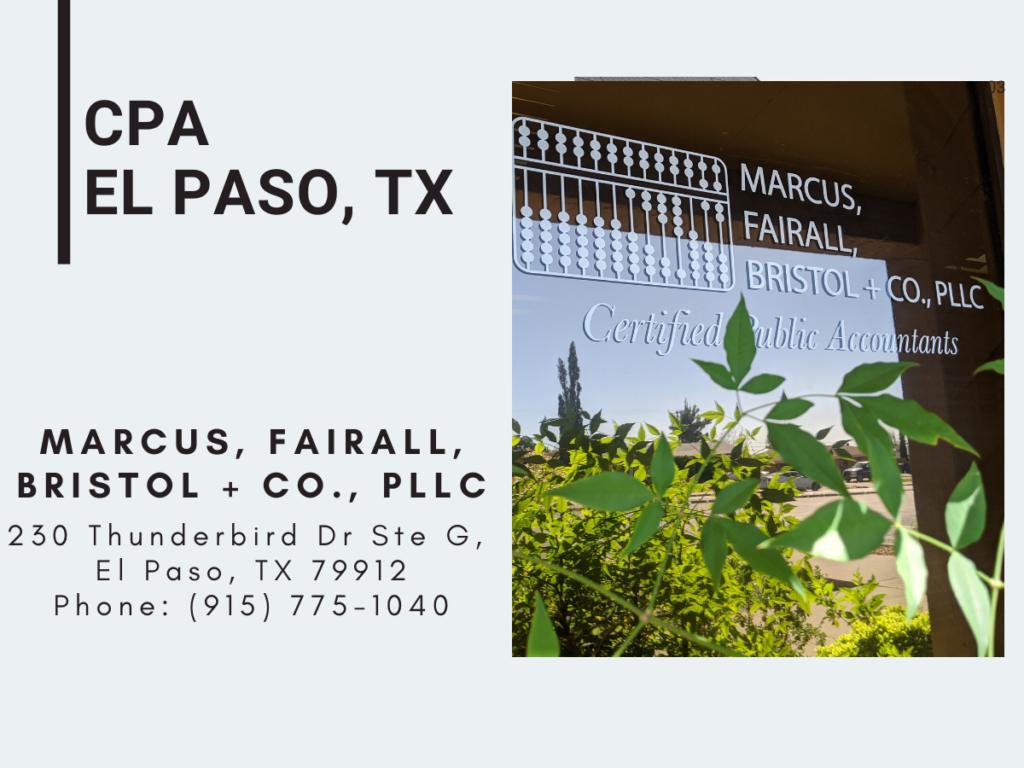 CPA El Paso, TX