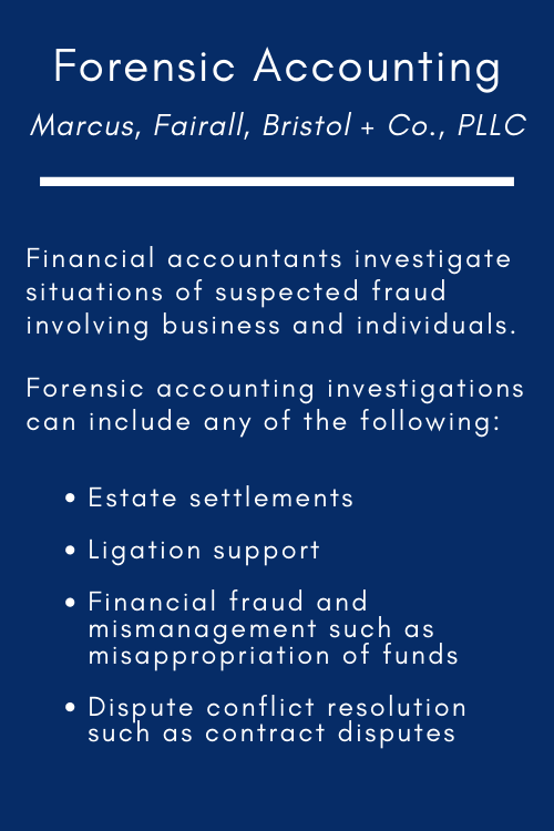 Forensic Accounting Poster