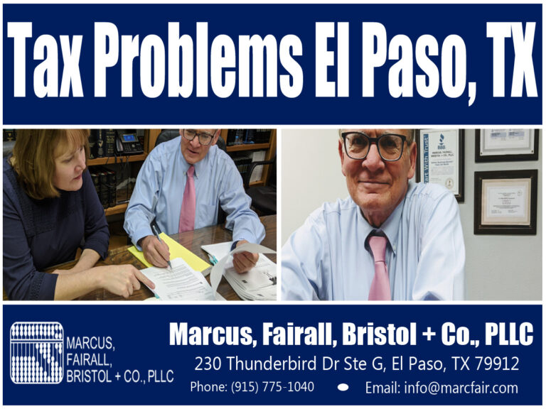 tax problems el paso