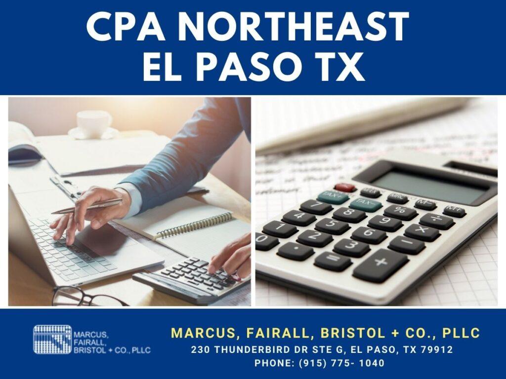 CPA northeast el paso tx