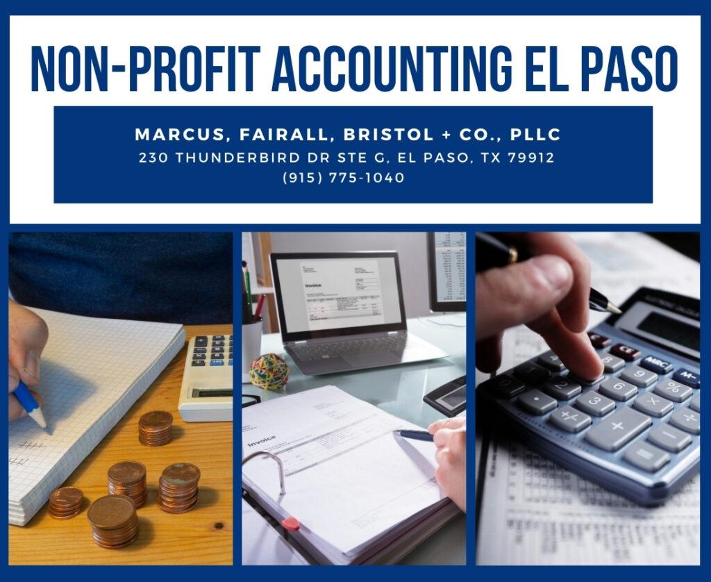 Non-Profit accounting el paso